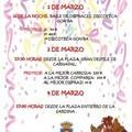 EL SÁBADO 1 DE MARZO COMIENZAN LAS ACTIVIDADES DEL CARNAVAL 2014