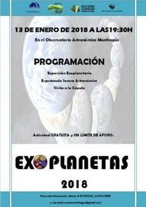 EL OBSERVATORIO ASTRONÓMICO DE MONFRAGÜE INVITA A CONOCER ALGUNOS DE LOS PLANETAS MÁS ALLÁ DE NUESTRO SISTEMA SOLAR.