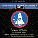 EL OBSERVATORIO ASTRONÓMICO CELEBRA EL FIN DE SEMANA CÓSMICO LOS DÍAS 25 Y 26 DE MAYO